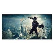 Неформатный постер Black Panther